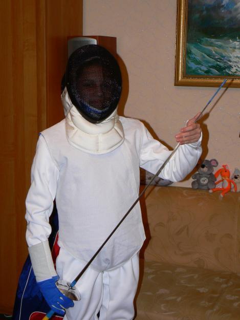 Экипировка для фехтования для девочки ( 11 - 15 лет.) купить, цена ... b1f9b88c50f