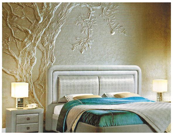 фото работ объемного декора на стенах