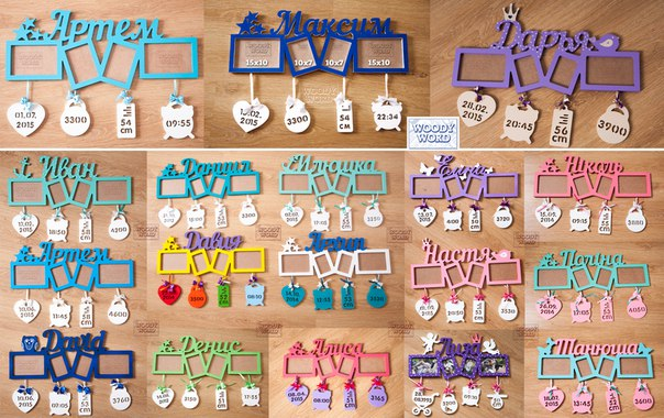 Фоторамки буквы своими руками